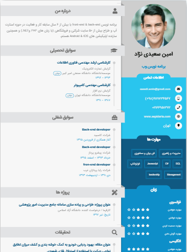 Sample resume of Freelanser-Template